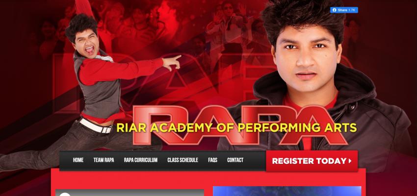 RIAR Academy Web Design